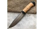 Булатный нож R009 (наборная береста)