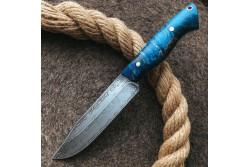 Булатный нож R009G (фултанг, стаб.кап клена)