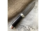 Булатный нож R009 (граб, алюминий)
