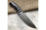 Булатный нож R010 (стабилизированный граб)