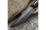 Булатный нож R014 (фултанг, стабилизированный граб)