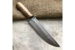 Булатный нож R014 (фултанг, орех)
