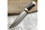 Булатный нож R015 (стаб.граб, латунь)