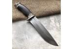 Булатный нож R015 Медведь (стаб. граб)