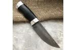Булатный нож Степчак Малый (кожа, алюминий)