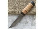 Булатный нож Степчак Большой (наборная береста)