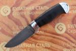 Булатный нож R001-алюминий, наборная кожа