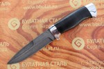 Булатный нож R004 - алюминий , наборная кожа