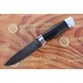 Булатный нож R005- алюминий наборная кожа