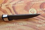 """Булатный нож""""Степчак""""-малый-алюминий,наборная береста"""