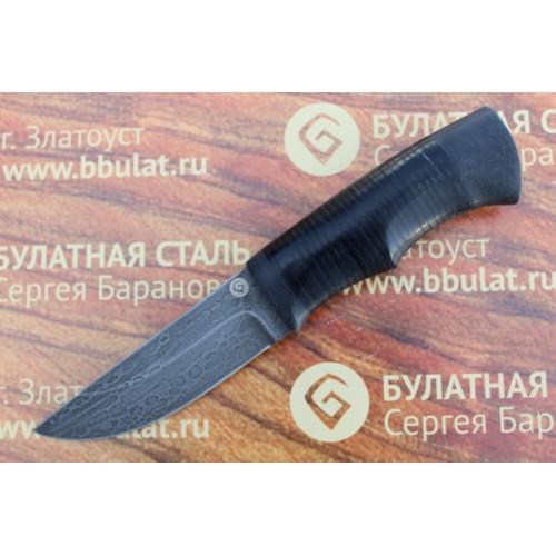 """Булатный нож""""Степчак""""-малый наборная кожа"""