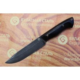 Булатный нож R009G (фултанг,  граб)