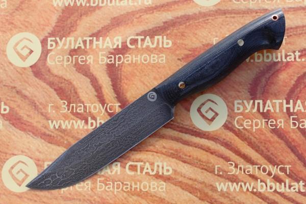 Нож разделочный из литого булата R009-микарта