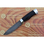Булатный нож R009 - наборная кожа,алюминий