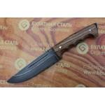 Булатный нож R010К Спасатель (фултанг, каштан)