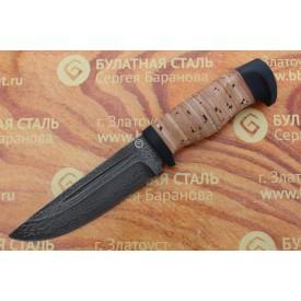 Булатный нож R010 (наборная береста)
