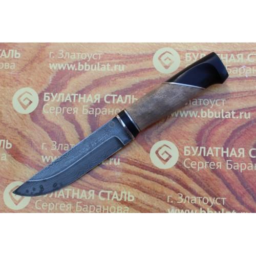 """Булатный нож """"Степчак""""-большой-наборная рукоять"""