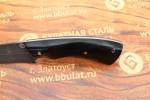 Нож разделочный из литого булата R013-граб