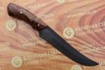 Нож разделочный из литого булата R013-каштан