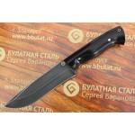 Булатный нож R015G - граб