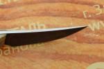 Нож разделочный из литого булата - Брелок-ясень