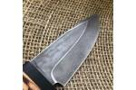 Шкуросъемный булатный нож S004 (наборная береста)
