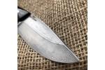 Шкуросъемный булатный нож S004 (фултанг, стаб.граб)