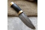 Булатный нож S004 (стаб.граб, латунь)