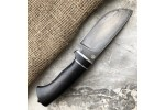 Шкуросъемный булатный нож S002G (стабилизированный граб)