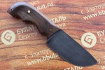Нож шкуросъемный из литого булата S002 - орех