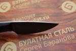 Нож шкуросъемный из литого булата S005G - граб