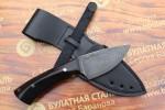 Шкуросъемный булатный нож S005G (фултанг,  граб)