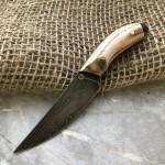 Булатный нож Брелок (ясень)