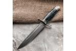 Булатный нож Финка НКВД (стаб. карельская береза)