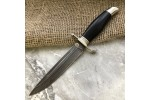 Булатный нож Финка НКВД (стабилизированный граб)