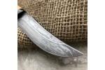 Булатный нож T001B (наборная береста)