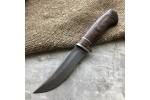 Булатный нож T001(стаб. карельская береза)