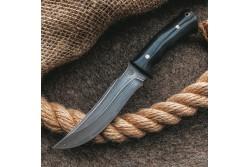 Булатный нож T001 (фултанг, микарта)