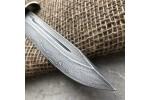 Булатный нож T002 / НР-40 (наборная береста)