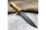 Булатный нож T002 / НР-40 (стаб.карельская береза)
