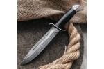 Булатный нож T002 / НР-40 (кожа, алюминий)
