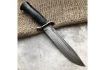 Булатный нож T002 / НР-40 (наборная кожа)