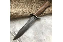 Булатный нож T002 / НР-40 (кавказский горный орех)