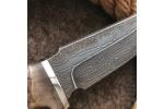 Булатный нож T003 (стабилизированный кап клена)