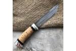 Булатный нож T004 (наборная береста, алюминий)