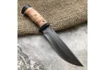 Булатный нож T004 (наборная береста)