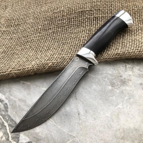 Булатный нож T004 (стаб.граб, алюминий)