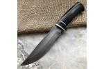 Булатный нож T004 (стабилизированный граб)