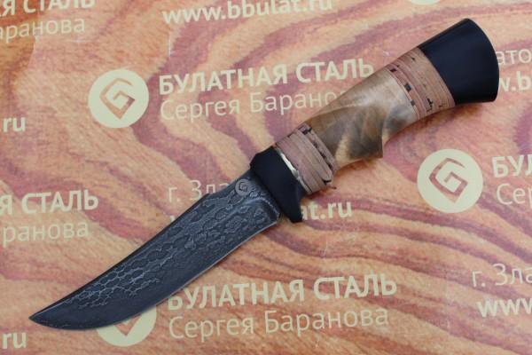 Нож туристический из литого булата T001-V1