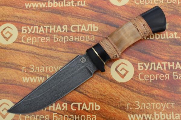 Нож туристический из литого булата T003-V1